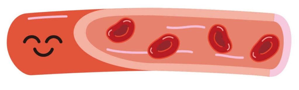 EPA・DHAには血液サラサラ効果がある