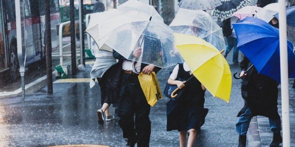 雨の日はウォーキングできない