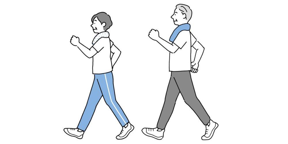 正しいウォーキングの歩き方