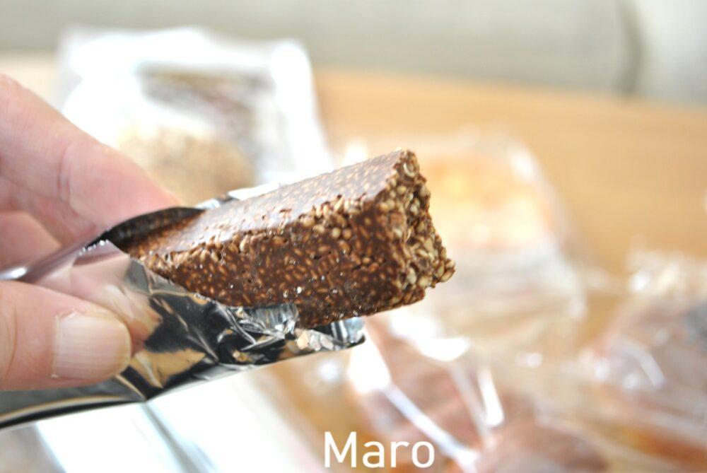 楽園フーズのさくさくチョコバー