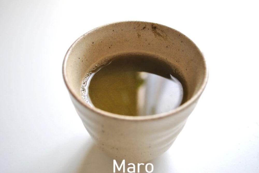 山英乳酸発酵茶の出来上がり
